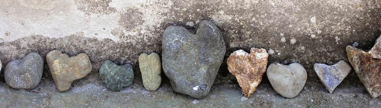 Steinerne Herzen